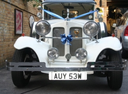 Beauford wedding car for hire in Southampton
